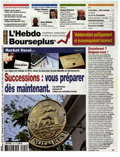Première page Bourse Plus